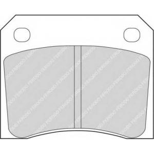 FERODO FDB815 Комплект тормозных колодок, дисковый тормоз Ягуар