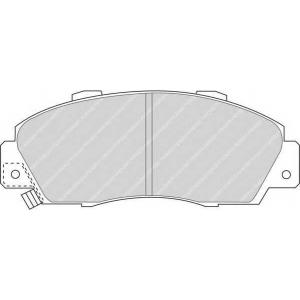 FERODO FDB905 Комплект тормозных колодок, дисковый тормоз Акура Нсх