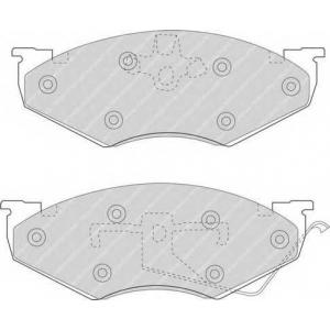 FERODO FDB927 Комплект тормозных колодок, дисковый тормоз Крайслер Le