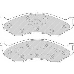 FERODO FDB929 Колодки гальмівні дискові