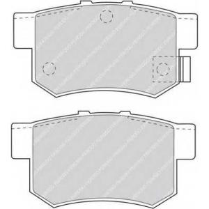 FERODO FDB956 Комплект тормозных колодок, дисковый тормоз Хонда