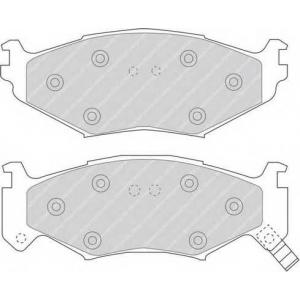 FERODO FDB977 Комплект тормозных колодок, дисковый тормоз Крайслер Le