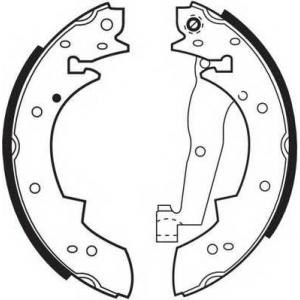 FERODO FSB173 Колодки гальмівні барабанні
