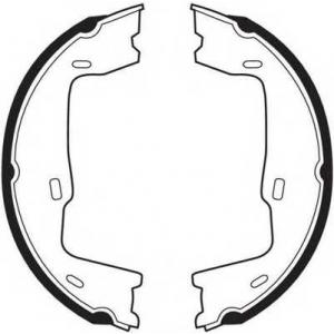 FERODO FSB227 Гальмівні колодки, барабанні