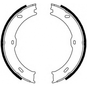 FERODO FSB4001 Гальмівні колодки, барабанні