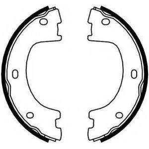 FERODO FSB4103 Гальмівні колодки, барабанні