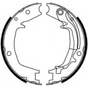 FERODO FSB4131 Колодки гальмівні барабанні