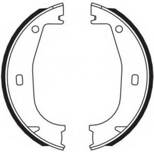 FERODO FSB546 Колодки гальмівні барабанні