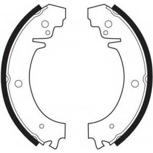 Комплект тормозных колодок fsb59 ferodo - LADA 1200-1600 седан 1200 L/S (VAZ, WAS2101)