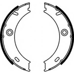 FERODO FSB625 Колодки гальмівні барабанні
