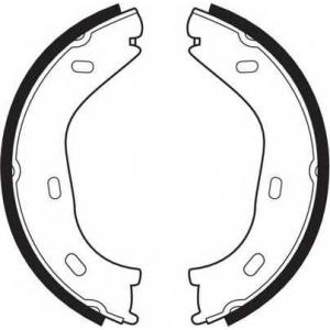 Комплект тормозных колодок, стояночная тормозная с fsb63 ferodo - MERCEDES-BENZ HECKFLOSSE (W111, W112) седан 220 B (111.010)