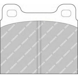 FERODO FSL2 Комплект тормозных колодок, дисковый тормоз Опель Кадет