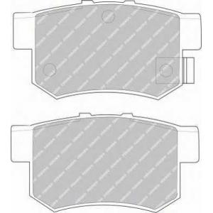 FERODO FSL956 Комплект тормозных колодок, дисковый тормоз Акура Легенд