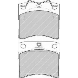 �������� ��������� �������, �������� ������ fvr1131 ferodo - VW TRANSPORTER IV ������� (70XB, 70XC, 7DB, 7DW) ������� 2.4 D Syncro