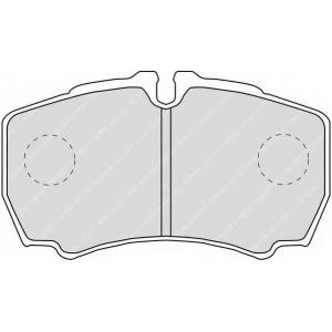 FERODO FVR1405 Комплект тормозных колодок, дисковый тормоз