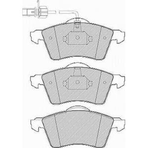 FERODO FVR1518 Колодки тормозные дисковые, к-кт.