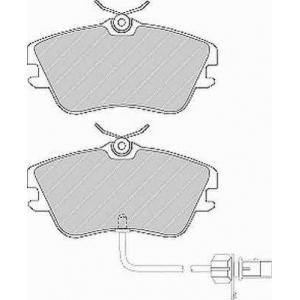 FERODO FVR1519 Колодки тормозные дисковые, к-кт.