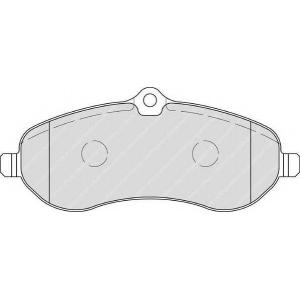 FERODO FVR1771 Гальмівні колодки, дискові