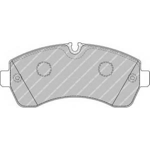 FERODO FVR1777 Колодки гальмівні дискові