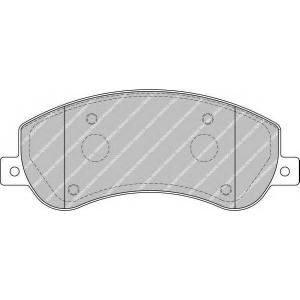 FERODO FVR1928 Колодки гальмівні дискові