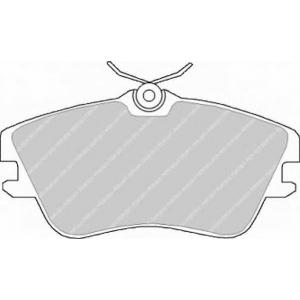 FERODO FVR970 Колодки гальмівні дискові