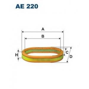 FILTRON AE 220 Воздушный фильтр Escort 1.6 XR 3,Fiesta 1.4,1.6 XR2,Orion 1.4 -8