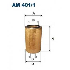 FILTRON AM401/1 Фильтр воздушный Iveco, Man, Actros  00>