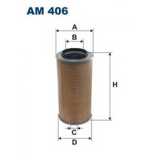 Воздушный фильтр am406 filtron - MERCEDES-BENZ T1 автобус (601) автобус 207 D 2.4