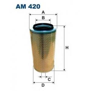FILTRON AM420 Фильтр воздушный Iveco, Man  87>00