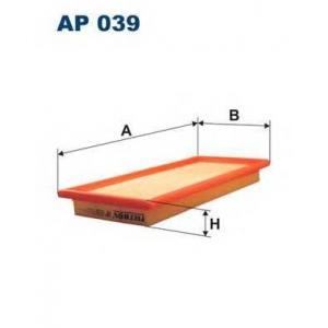 Воздушный фильтр ap039 filtron - FIAT TIPO (160) Наклонная задняя часть 1.9 TD (160.AW)