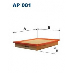 FILTRON AP 081 AP 081 Фільтр повітря FILTRON (шт.)