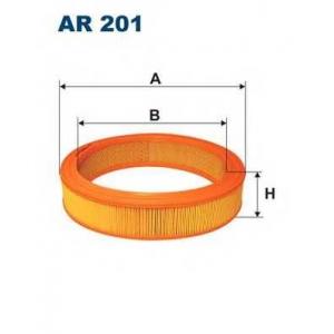 Воздушный фильтр ar201 filtron - AUDI 50 (86) Наклонная задняя часть 1.1