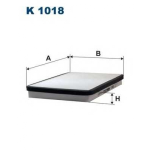 Фильтр, воздух во внутренном пространстве k1018 filtron - PEUGEOT 405 I (15B) седан 1.6