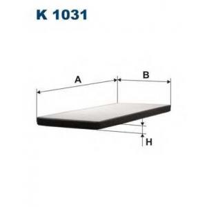 FILTRON K1031 Фильтр, воздух во внутренном пространстве
