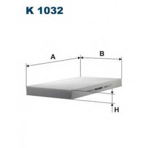 FILTRON K 1032 Фильтр воздушный (салон)