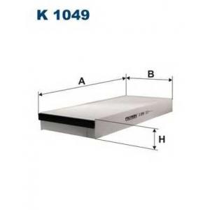 FILTRON K 1049 Фильтр, воздух во внутренном пространстве