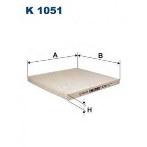 FILTRON K 1051 Фильтр салона Megane Scenic1 +AC