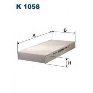 FILTRON K1058 Фильтр, воздух во внутренном пространстве