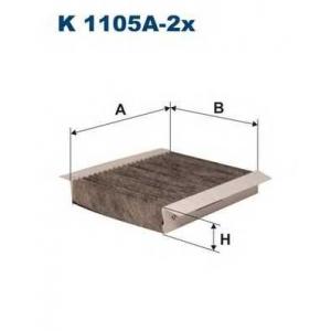 FILTRON K1105A2X Фильтр, воздух во внутренном пространстве