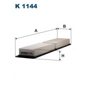FILTRON K1144 Фильтр, воздух во внутренном пространстве