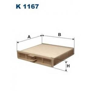 FILTRON K1167 Фильтр, воздух во внутренном пространстве
