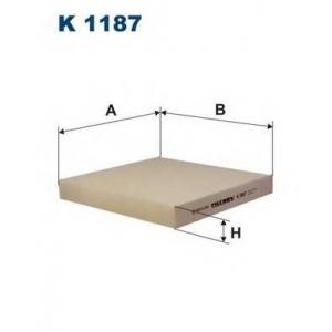 FILTRON K1187 Фильтр, воздух во внутренном пространстве