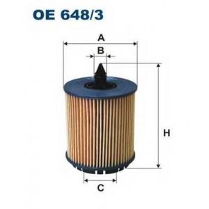 FILTRON OE648/3 Фильтр масляный Z22SE/A20-24NHT/XE