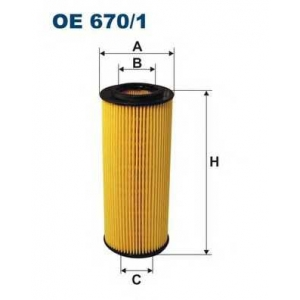 FILTRON OE6701 Фильтр масляный