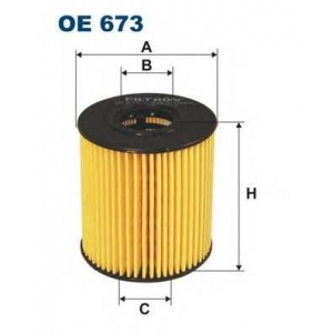 Масляный фильтр oe673 filtron - CITRO?N BERLINGO фургон (M_) фургон 1.4 i (MBKFX, MBKFW)