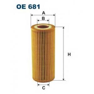 FILTRON OE681 Фильтр масляный