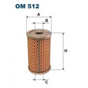 Гидрофильтр, рулевое управление om512 filtron - IVECO DAILY I c бортовой платформой/ходовая часть c бортовой платформой/ходовая часть 30-8 (10011131, 10011132, 10011231, 10011232, 10011237...)