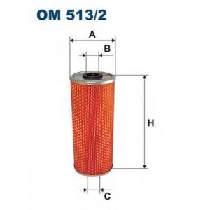 FILTRON OM513/2 Фильтр маслян.Man f2000