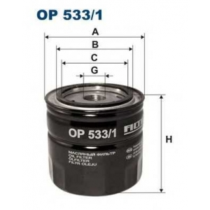 FILTRON OP533/1 Фильтр масла