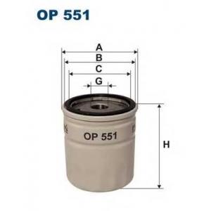 FILTRON OP551 Масляный фильтр